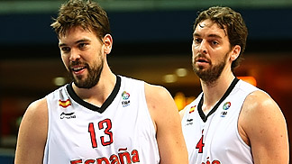 Marc and Pau Gasol